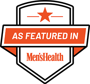 As Featured in Men's Health