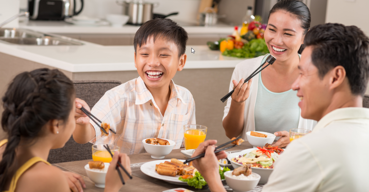 Food for Thought: Making Time to Eat with Our Loved Ones