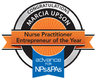 Marcia Upson: Nurse Practitioner Enterpreneur of the Year, 2010